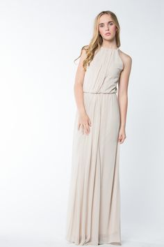 Contemporary Bridesmaid Dresses - Swoon Bridesmaids - AMALFI - CHIFFON