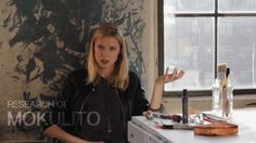 Polish artist Ewa Budka demonstrates the Mokulito printmaking process, explains its history and its current state.