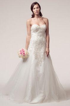 KCW1534 Tulle Beaded A-line Wedding Dress by Kari Chang Eternal