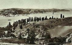 Nakkaştepe'den Boğaziçi / 1910 | Eski İstanbul Fotoğrafları Arşivi