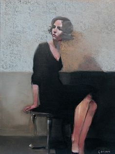 artnet Galleries: Thoughtful Gaze by Michael Carson from Bonner David Galleries