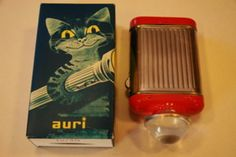 Auri taskulamppu (1950-luku?) My Childhood Memories, Childhood Toys, 1950s Decor, Old Commercials, Good Old Times, Old Pictures, Ancient History, Vintage Ads, Finland