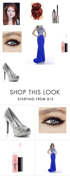 """""""Bruce Wayne Charity Event"""" by girlwhosparkles ❤ liked on Polyvore featuring MAC Cosmetics, Envious Couture and Benefit"""