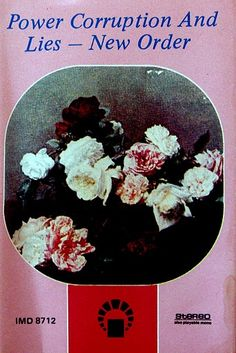 New Order - Power Corruption And Lies (Saudi Arabian cassette)