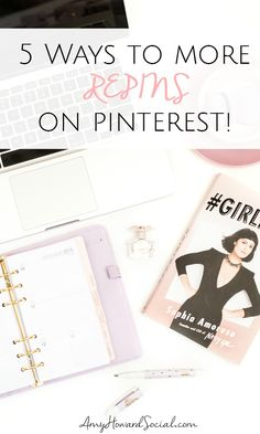 Get more repins on Pinterest by: converting to a business account, setting up rich pins, focusing on SEO and making sure images are vertical, clear and well styled.