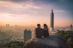 Taipei 101 Love  #Couple #Love #Cuddle #Craving #You instagram @oscarfjimenez