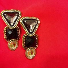 Art Deco Noelene earrings on sale! www.cayetanolegacy.com