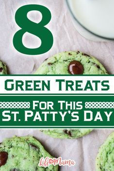 Aside from the partying and general high spirits, eating colorful sweets is probably the best part about holidays. This St. Patty's Day, all you really need is a bit of luck and these super fun green treats!