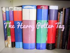 Cloee's Corner: Books || Harry Potter || Harry Potter Tag