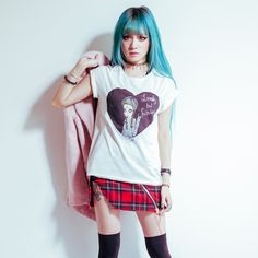Lonely But Fabulous Valfre Crew Tshirt With Tacked Sleeves | Valfré