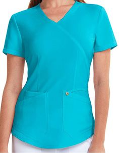 Nursing Uniforms, Medical Uniforms, Stylish Scrubs, Urban Looks, Medical Scrubs, Scrub Tops, Princess Seam, Caregiver, Signature Logo