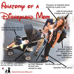 Anatomy of a Disneyland Mom