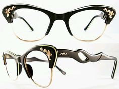 Wowsers! Vintage eye glasses