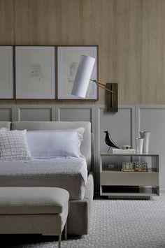 Bedroom interior classic bedside tables 59 ideas for 2019 Easy Home Decor, Home Decor Trends, Decor Ideas, Interior Design Boards, Furniture Design, Custom Furniture, Office Furniture, Master Bedroom, Furniture
