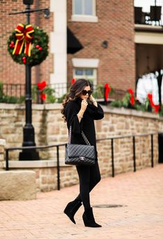 Chic All Black For Christmas Time | The Sweetest Thing | Bloglovin'
