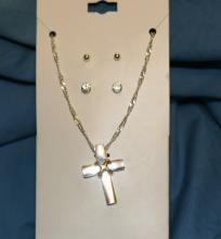 2 tone gold/silver color Cross