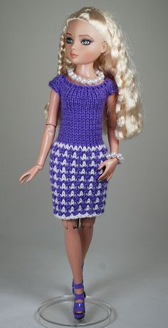 3 | by Maggie and Kate Create Barbie Clothes, Barbie Dolls, Wedding Pantsuit, Barbie Wardrobe, Knitting Dolls Clothes, Gotz Dolls, Create Photo, Fashion Dolls, Knitting Patterns