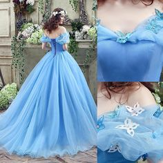 Cinderella Quinceanera Themes, Pretty Quinceanera Dresses, Cinderella Dresses, Disney Dresses, Quince Dresses, 15 Dresses, Pretty Dresses, Formal Dresses, Wedding Dresses