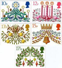 イギリスクリスマス切手