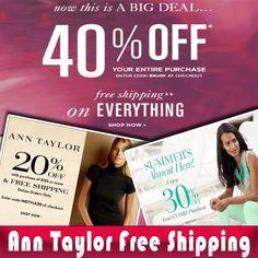 Ann taylor loft promo code teacher