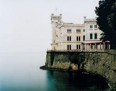 The Miramare Castle in Trieste, Italy