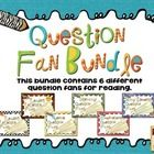 This zipped bundle contains 6 of my popular question fan resources for reading:  Comprehension Question Fans, Genre Question Fans, Literary Questio...