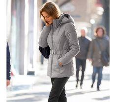 Kratka prešívaná bunda s opaskom   blancheporte.sk #blancheporte #blancheporteSK #blancheporte_sk  #autumn #fall #jesen #bunda Winter Jackets, Fashion, Winter Coats, Moda, Winter Vest Outfits, Fashion Styles, Fashion Illustrations