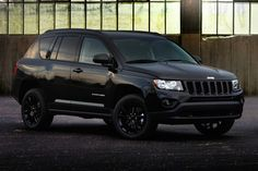 My other baby! i love my car!! all black! 2012 Jeep Compass Altitude edition.
