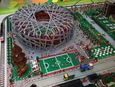 An incredible Lego version of the Beijing 2008 Olympics to give our little Lego-neers inspiration for this summer, from Noticias Arquitectura Blog.