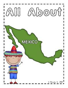 About Mexico Reader FREEBIE This is a simple reader that you can read to your class to integrate Cinco de Mayo! Please enjoy!This is a simple reader that you can read to your class to integrate Cinco de Mayo! Please enjoy! Geography Lessons, World Geography, Kids Around The World, Holidays Around The World, Summer Camp Activities, Holiday Activities, Preschool Projects, Preschool Activities, Spanish Lessons