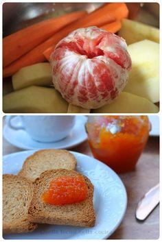 Confettura di carote e pompelmo Cottura in pentola a pressione #pentolaapressione #confetture #pompelmo #carote #agaragar #mele #jam #carrot