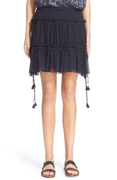 SEE BY CHLOÉ Tiered Georgette Skirt. #seebychloé #cloth #