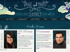Vince & Marlene - a wedding story. See how a Star Wars fanatic and Jiu Jitsu fighter came to fall in love.