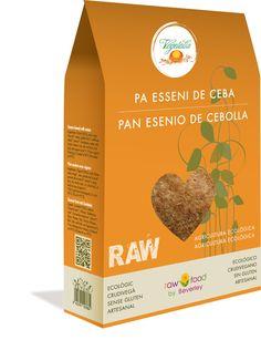 Pan Esenio de Cebolla - Raw Food www.rawfooddietforlife.com