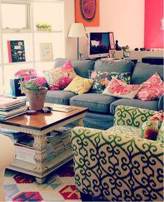 Textura, patrones y colores al por mayor, love it!