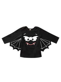 Festive Threads Unisex Baby Happy Halloween T-Shirt Romper Skulls