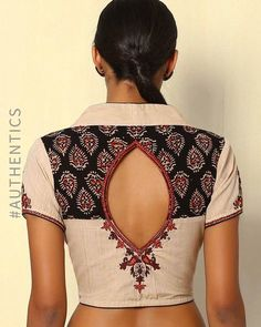 kalamkari & cotton print pattern blouse to try this summer 2020 . Try this look at SM Studio Now try this different looks of kalamkari, ikat print blouse for all those sunn… Blouse Back Neck Designs, Cotton Saree Blouse Designs, Simple Blouse Designs, Stylish Blouse Design, Neckline Designs, Saree Blouse Patterns, Kurta Designs, Cotton Blouses, Blouses For Women