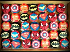 Kid Birthday Cupcakes