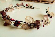 Martinuska / Zimná vianočná Handmade Headbands, Bobby Pins, Hair Accessories, Beauty, Hairpin, Hair Accessory, Hair Pins, Beauty Illustration