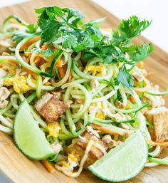 25 Irresistible Zoodles Recipes: Zoodle Pad Thai