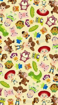 Imagem de disney, toy story, and wallpaper … – pictures world Cartoon Wallpaper, Disney Phone Wallpaper, Baby Wallpaper, Children Wallpaper, Toy Story Birthday, Toy Story Party, Baby Disney, Disney Art, Cute Wallpapers