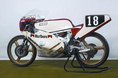 Morbidelli 125 P4X 1985 Moto ufficiale