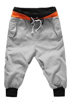 Hot  Loose Mens 3/4 Length Knee Jogger Sport Baggy Gym Harem Pants Rope Trousers