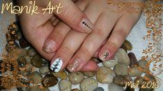 #summer #pretty #white #design #nails #nailart #design #ongle #été #original