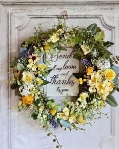mille fleures / flower atelierさんはInstagramを利用しています:「🌿custom made wreath💫 * * オールシーズン飾れる グリーンとイエローの エントランス用リース💫 * * @h2ofield.m 様、 お待たせいたしました🙏 ありがとうございました😊 * * * * * * * * * * * #ウェルカムボード…」 Flower Arrangement Designs, Floral Arrangements, Bunch Of Flowers, Dried Flowers, Wedding Welcome Board, Deco Floral, Wreaths For Front Door, Diy Wreath, Belle Photo