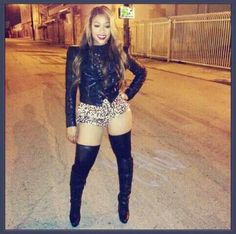TRINA LOVE THE OUTFIT