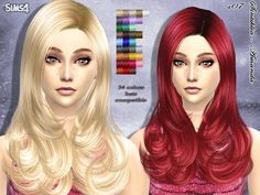 TSR : Sintiklia - Hair s07 Amanda.