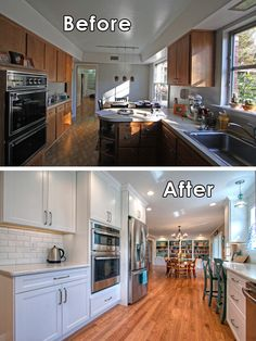 37 best Remodeling Ranch Homes images on Pinterest | Bungalows ... Ranch Home Kitchen Designs For Small Spaces Html on