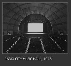 Radio City Music Hall, 1978 - Hiroshi Sugimoto