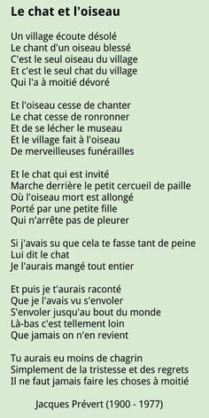 French Words Quotes, French Poems, French Phrases, French Language Lessons, French Language Learning, French Lessons, Foreign Language, French Teaching Resources, Teaching French